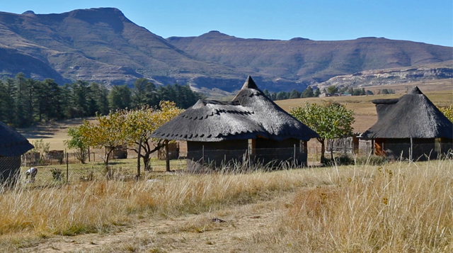 Naledi Village in Rustlers Valley. Photo courtesy Diana Neille